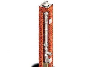 Schornsteinsanierung mit Edelstahlinnenrohr